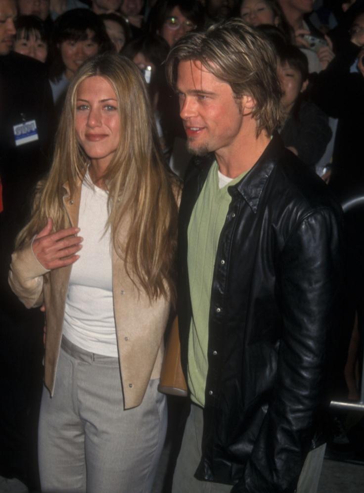 1998-й год: у Питта роман с Дженнифер Энистон. Они молоды, влюблены и прекрасны.