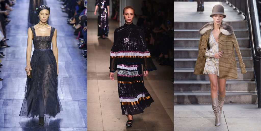 Christian Dior AW17; Erdem AW17; Marc Jacobs AW17