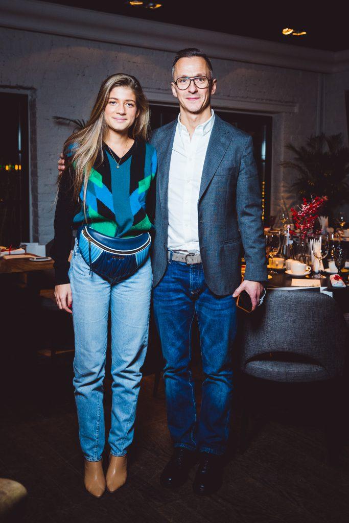 Александра Новикова и Степан Михалков
