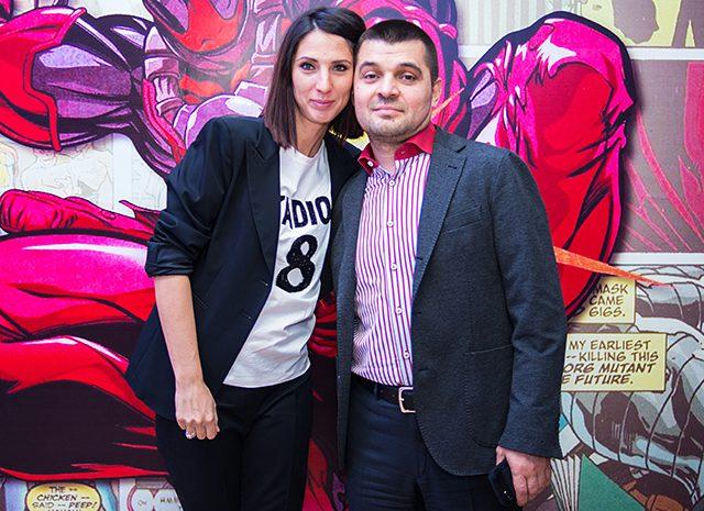 Анастасия Мыскина и Сергей Мамедов