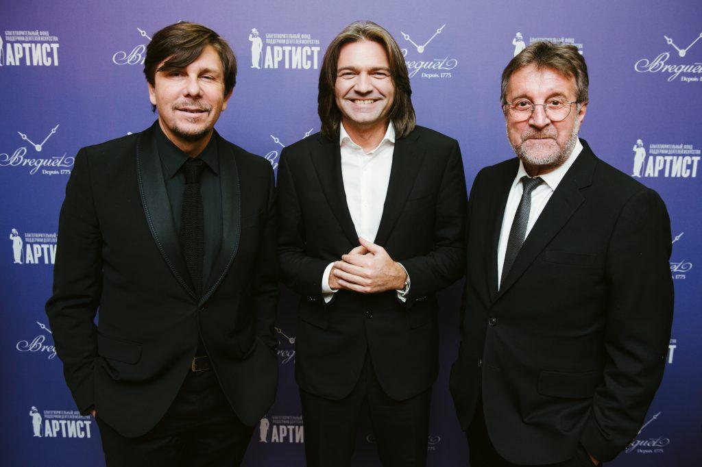 Андрей Фомин, Дмитрий Маликов и Леонид Ярмольник