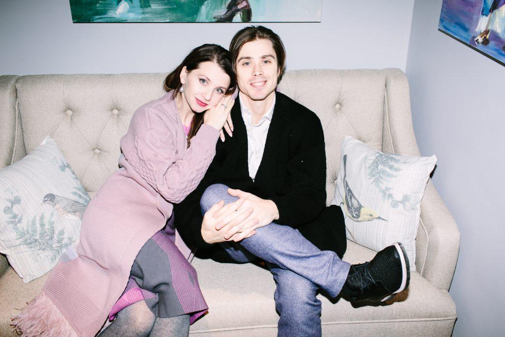 Анна Тихомирова и Антон Овчаренко