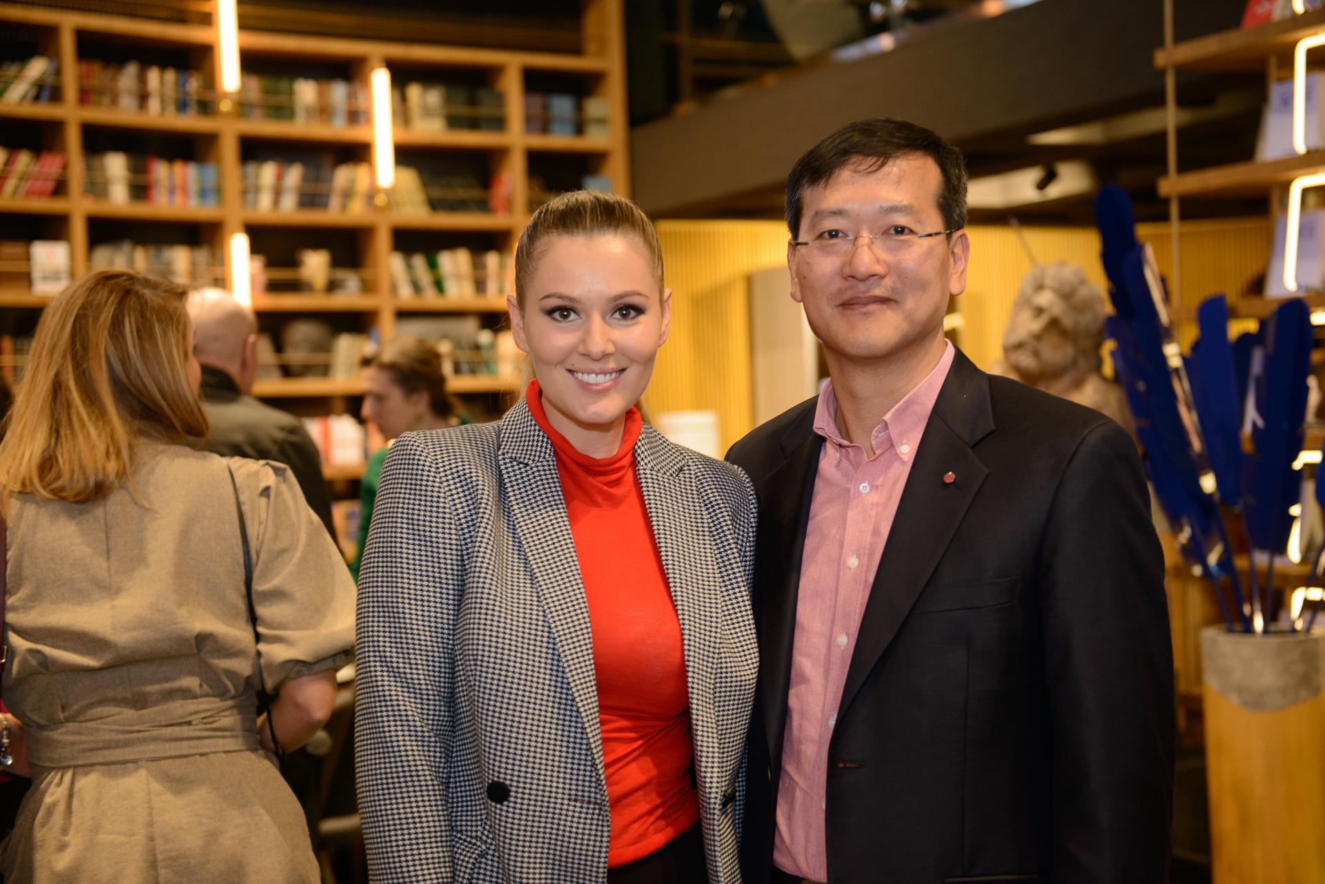 Мария Кожевникова и Иль Хван Ли