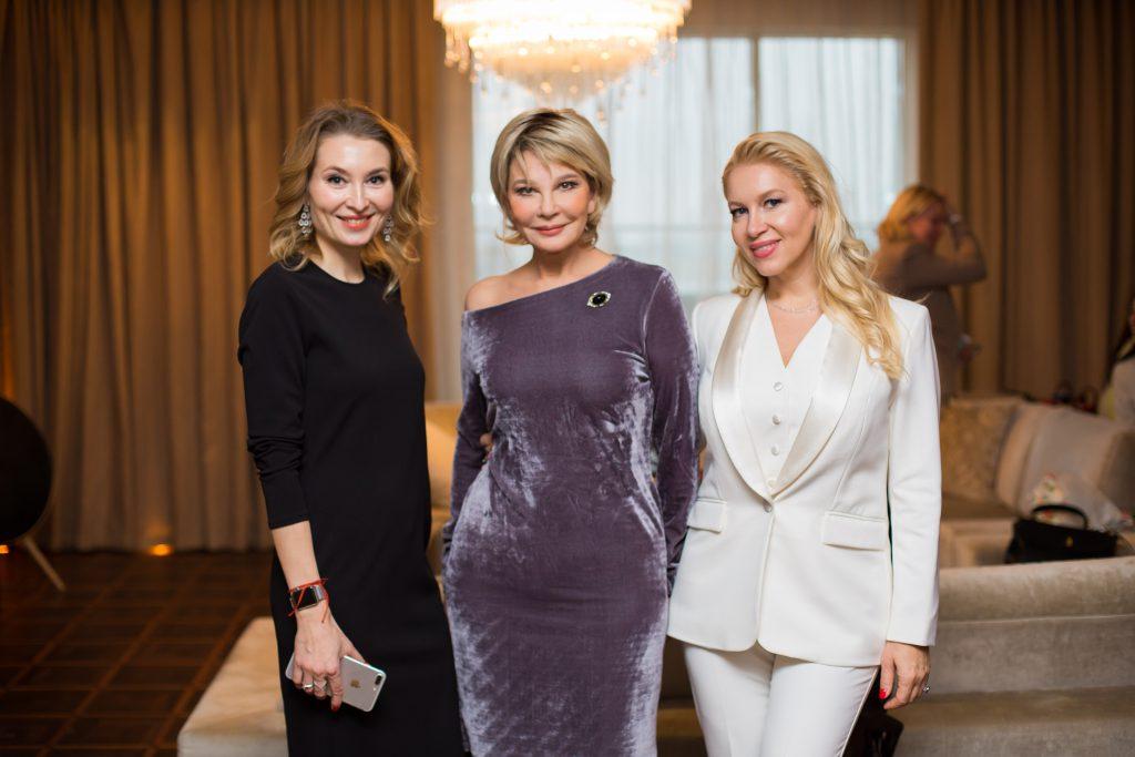 Елена Смирнова, Татьяна Веденеева и Екатерина Одинцова