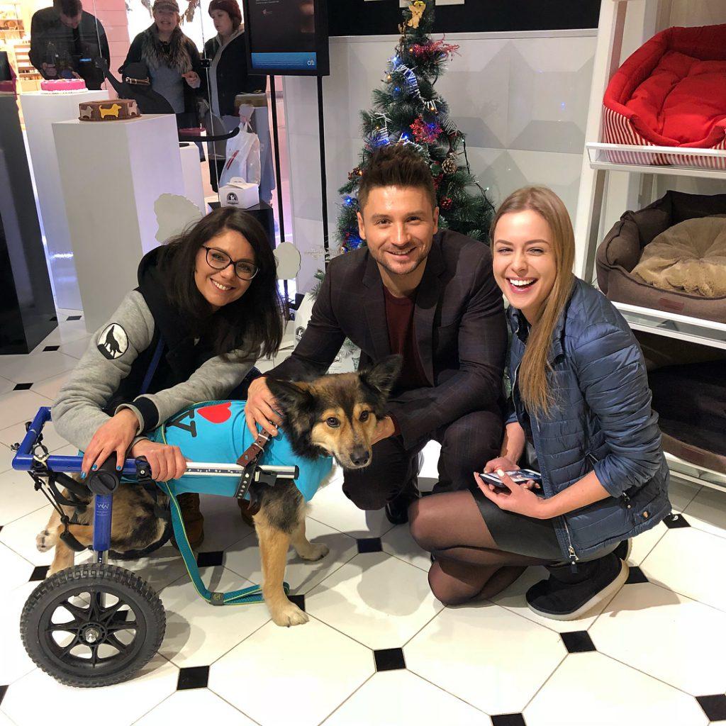 Сергей Лазарев устроил dog-friendly праздник