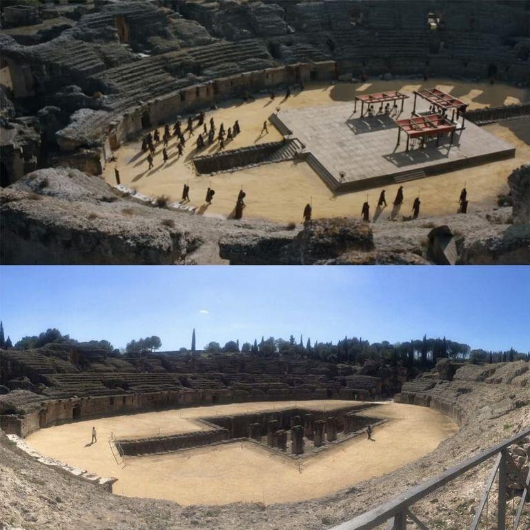 Встреча Джона Сноу, Дейенерис и Серсеи проходила в Римской колонии италика