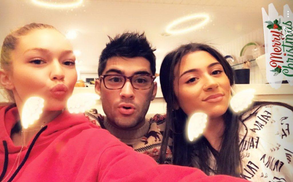 Джиджи, Зейн и Сафая