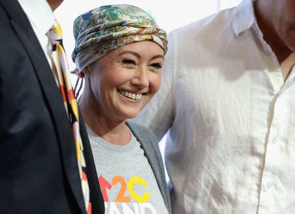 Шеннен Доэрти после химиотерапии