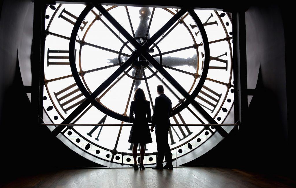 Кейт Миддлтон и принц Уильям в Париже, март