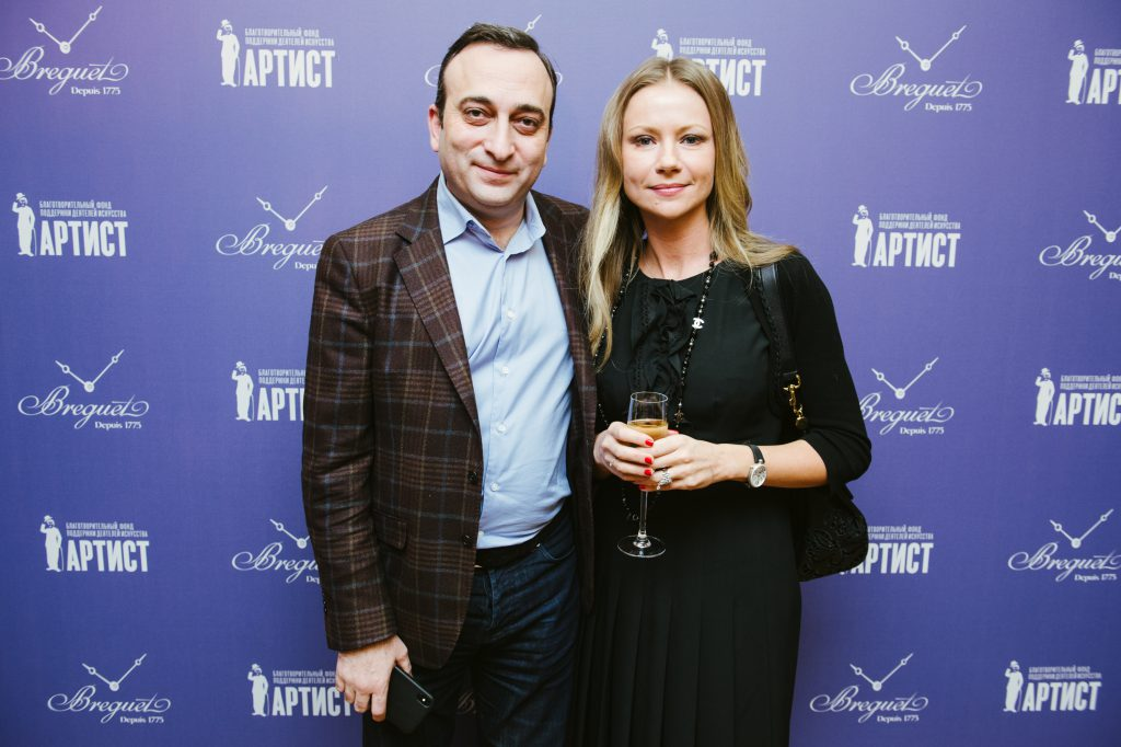 Гор Нахапетян и Мария Миронова
