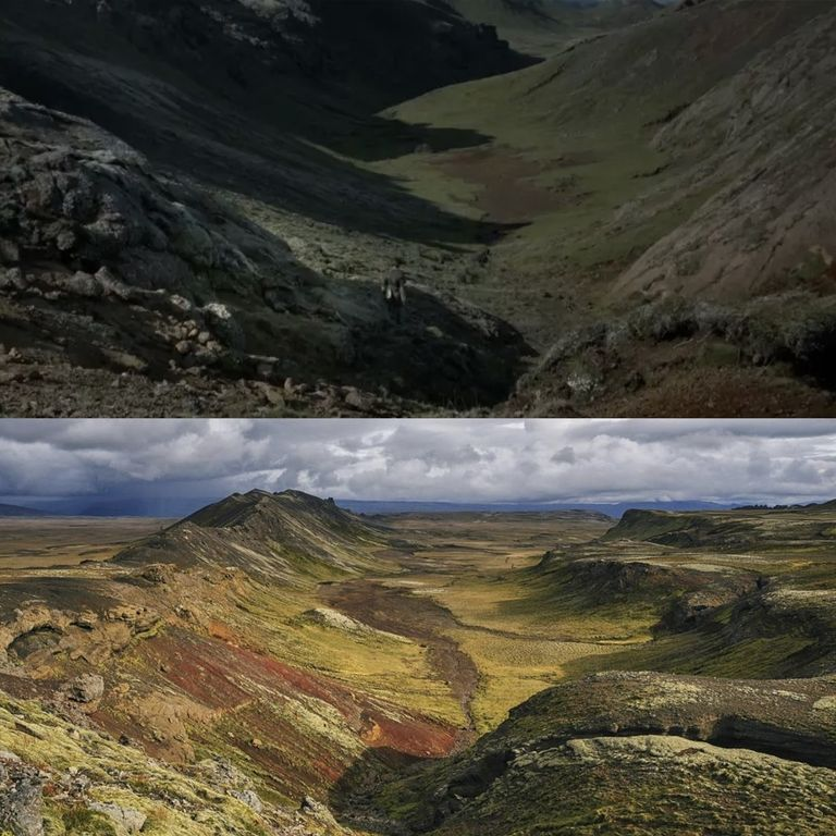 Битва Бриенны Тарт и Сандора Клигана была на вулкане Хейнгидль