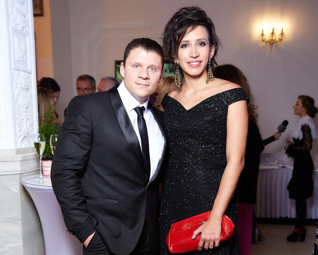 Валерий Юшкевич и Елена Борщева