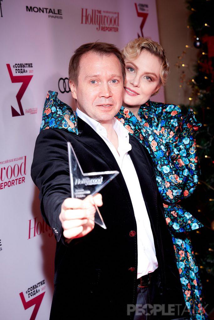 Евгений Миронов и Рената Литвинова