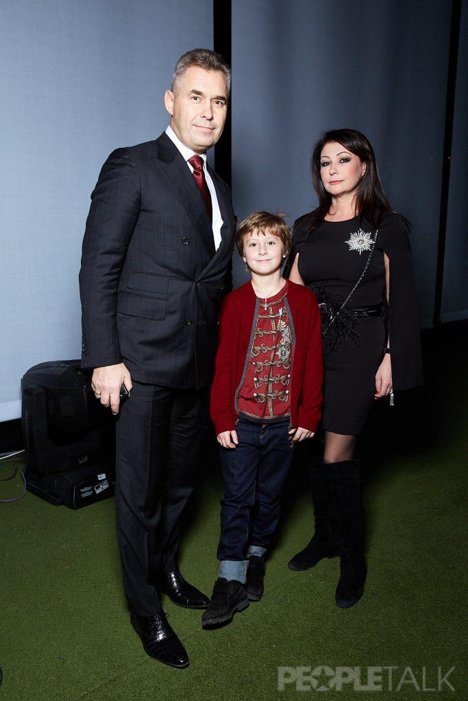 Павел и Светлана Астаховы с сыном