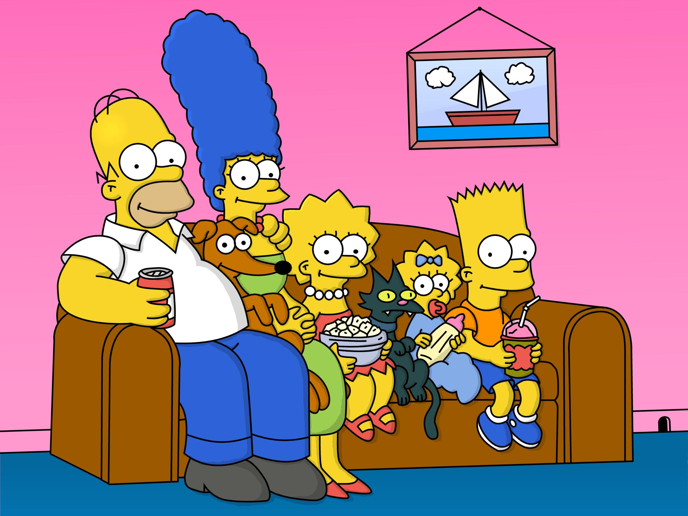 Симпсоны мультфильм 1989