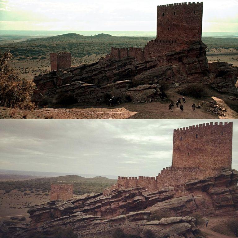 Башня радости - замок в Кампильо-де-Дуэньясе, Испания