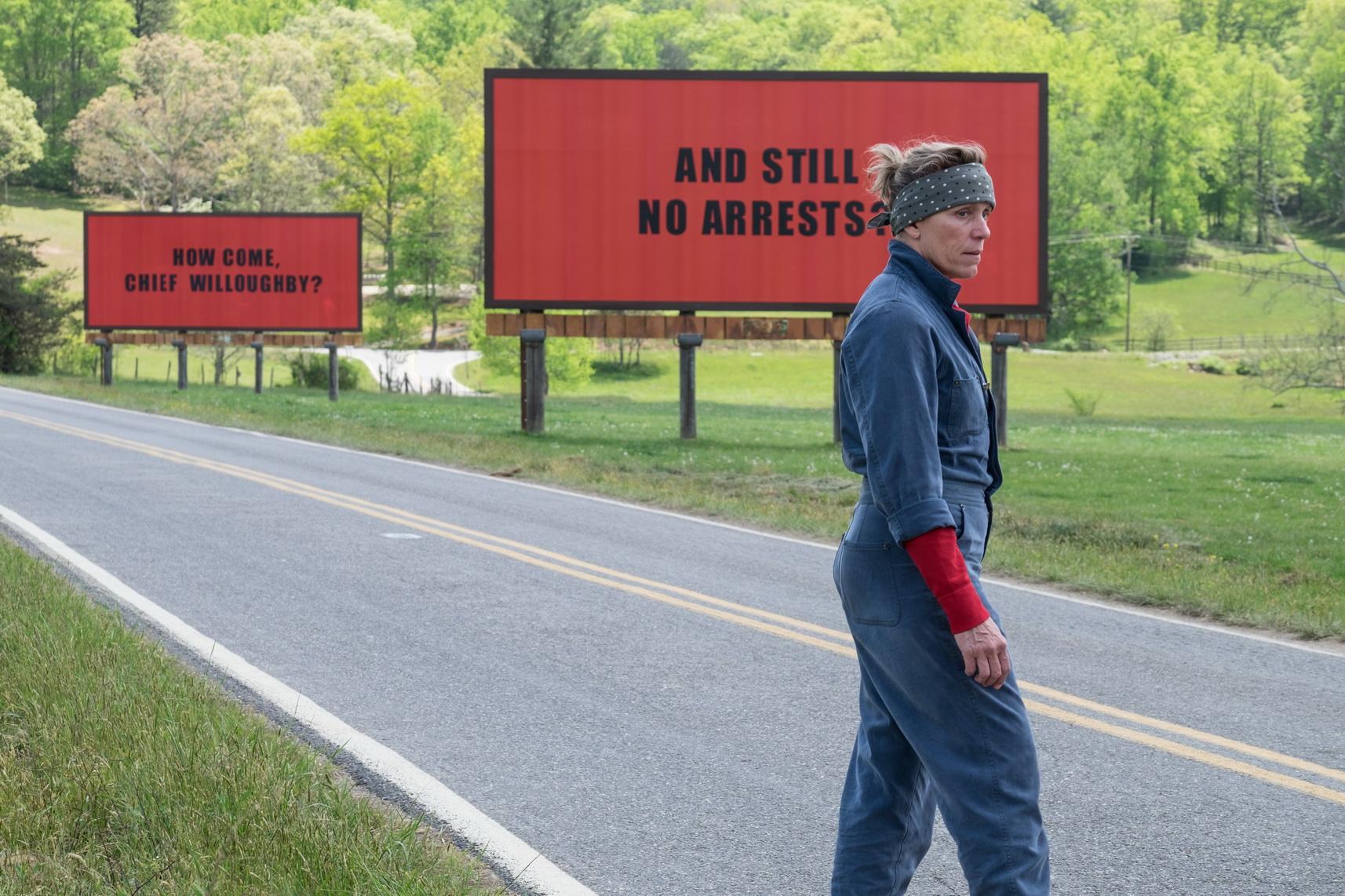 Фрэнсис МакДорманд — «Три билборда на границе Эббинга, Миссури»
