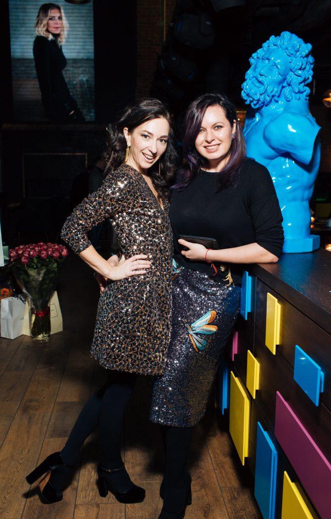 Мария Лобанова и Светлана Амова