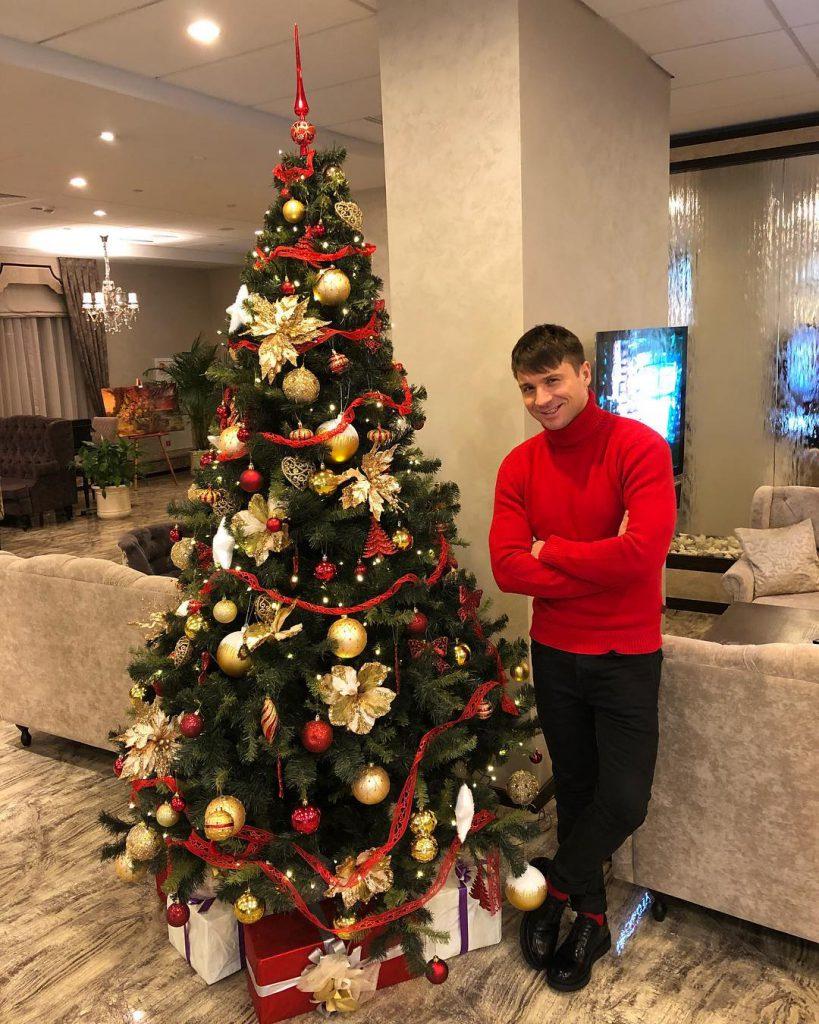 Сергей Лазарев хвастался классной елкой