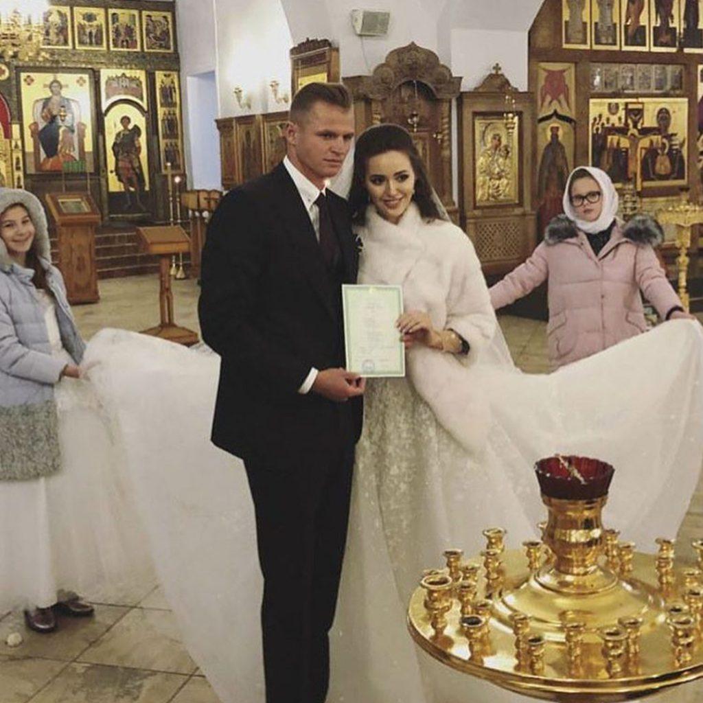Венчание Дмитрия и Анастасии