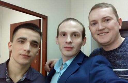 Сергей Семенов, Илья Анищенко и их друг Евгений