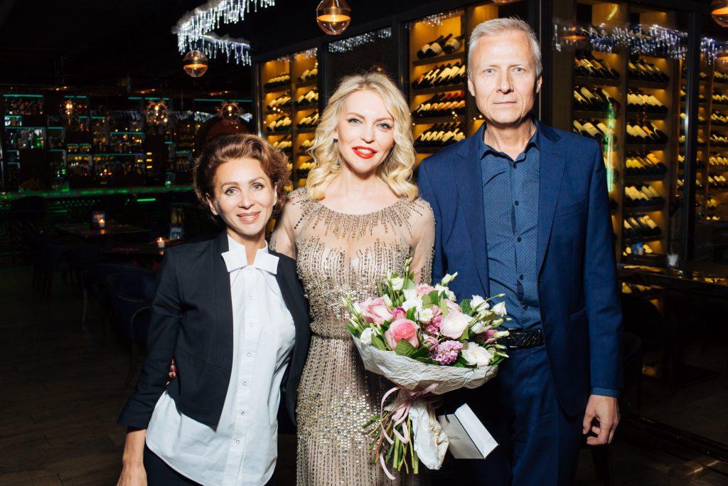 Оксана Воронцова, Дарья Михалкова и Юрий Воронцов
