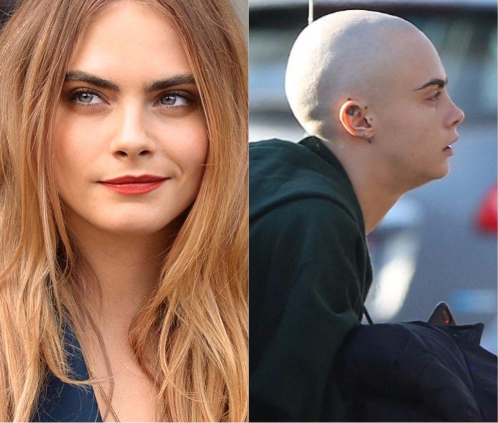 В апреле 2016 года Кара Делевинь (25) побрилась налысо, чтобы сыграть девушку со смертельным диагнозом, раком на последней стадии, в фильме Life In A Year.