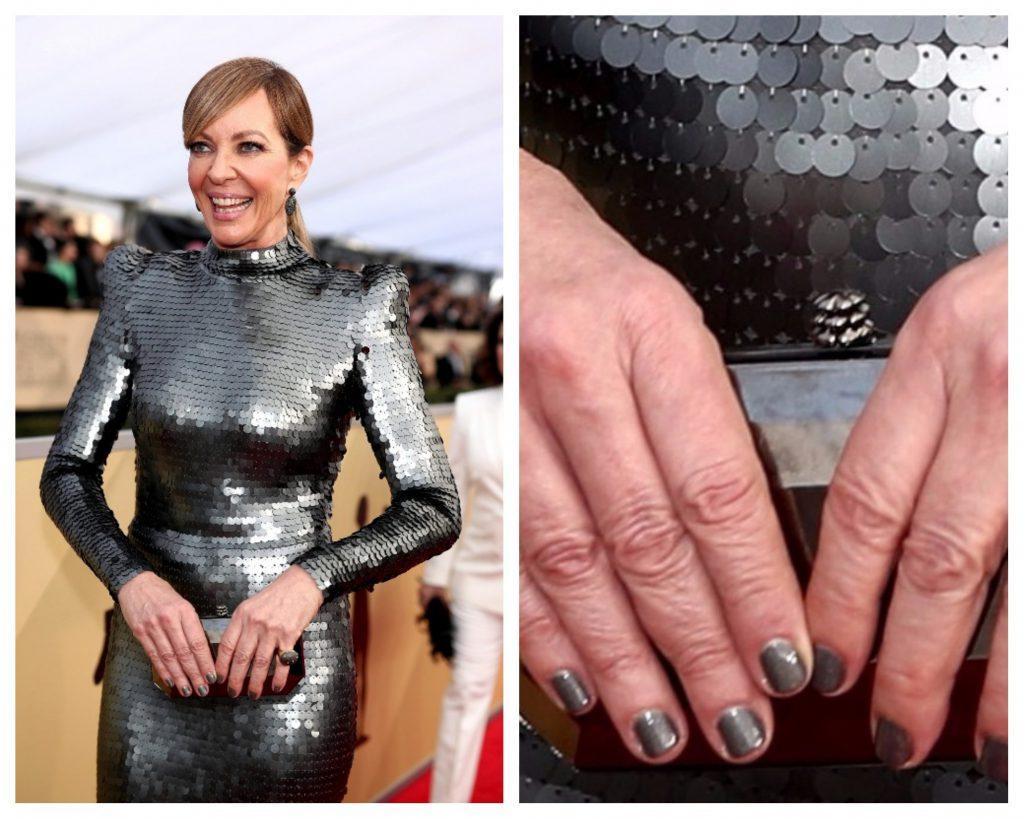 Эллисон Дженни (58) сделала серебряное покрытие