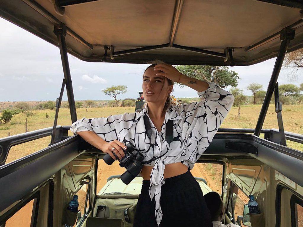 Ханна и Пашу отправились в Африку