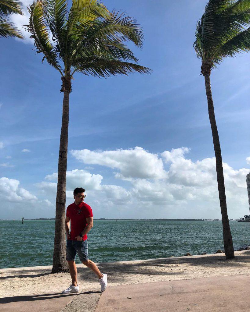 Сергей Лазарев отдыхал в Майами