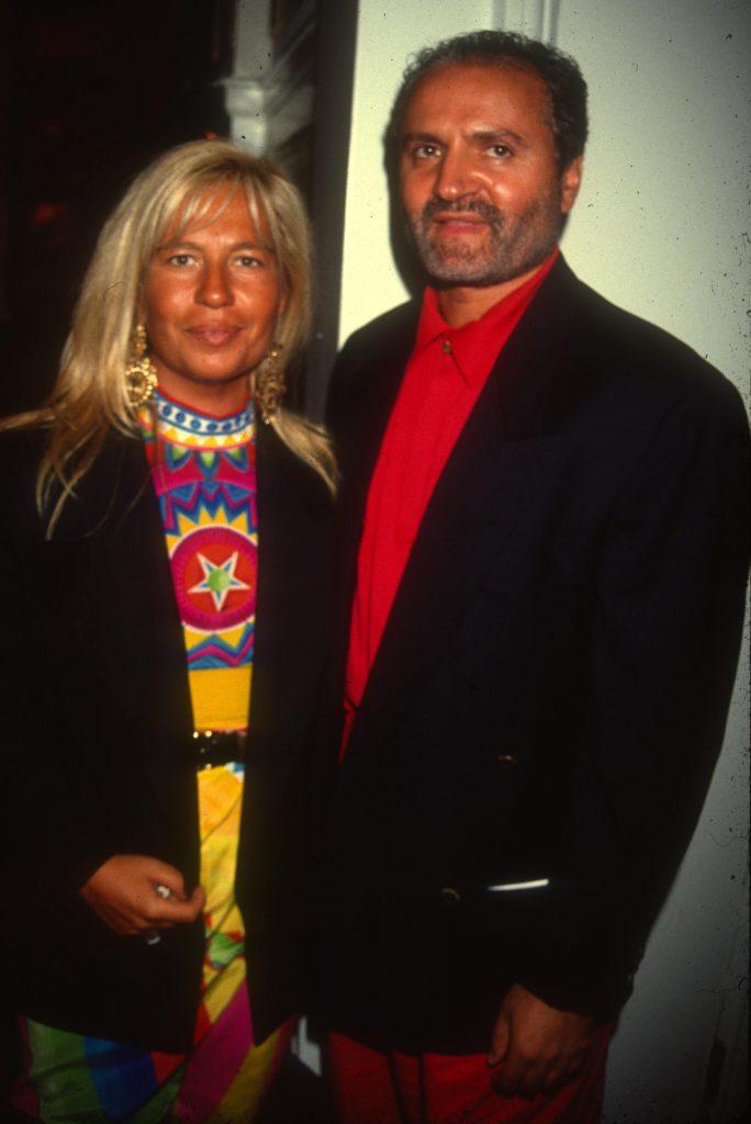 Донателла и Джанни Версаче