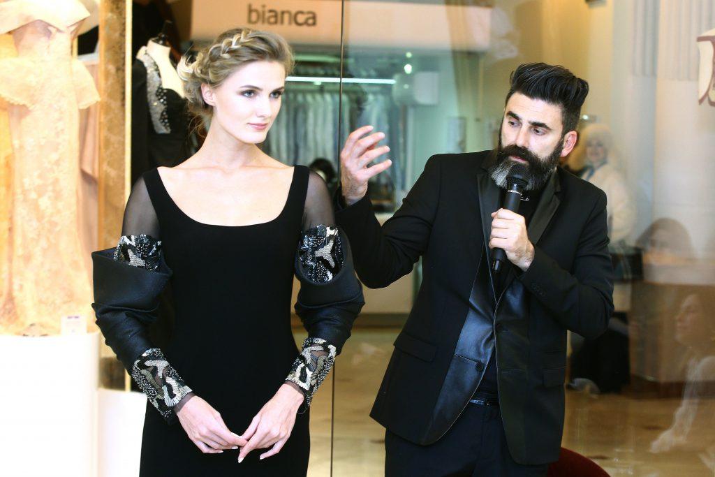 Габи Чарбачи с моделью
