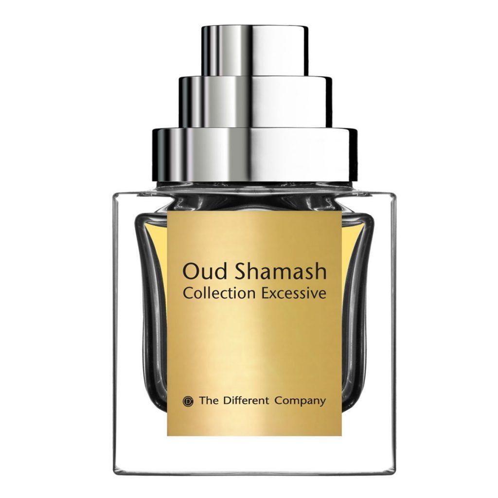 Oud Shamash Collection Excessive, The Different Company (от 10 000 р.) – без густого сигарного облака, но с густой дымкой внутри и медово-амбровым звучанием.