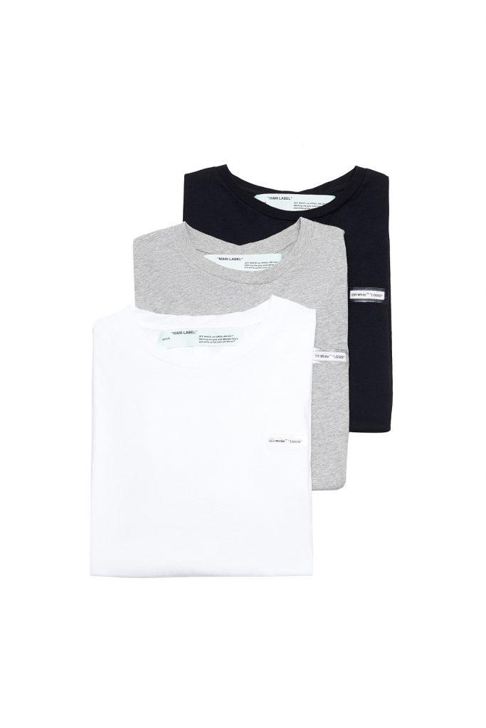 Комплект футболок Off/White, 34200 руб.