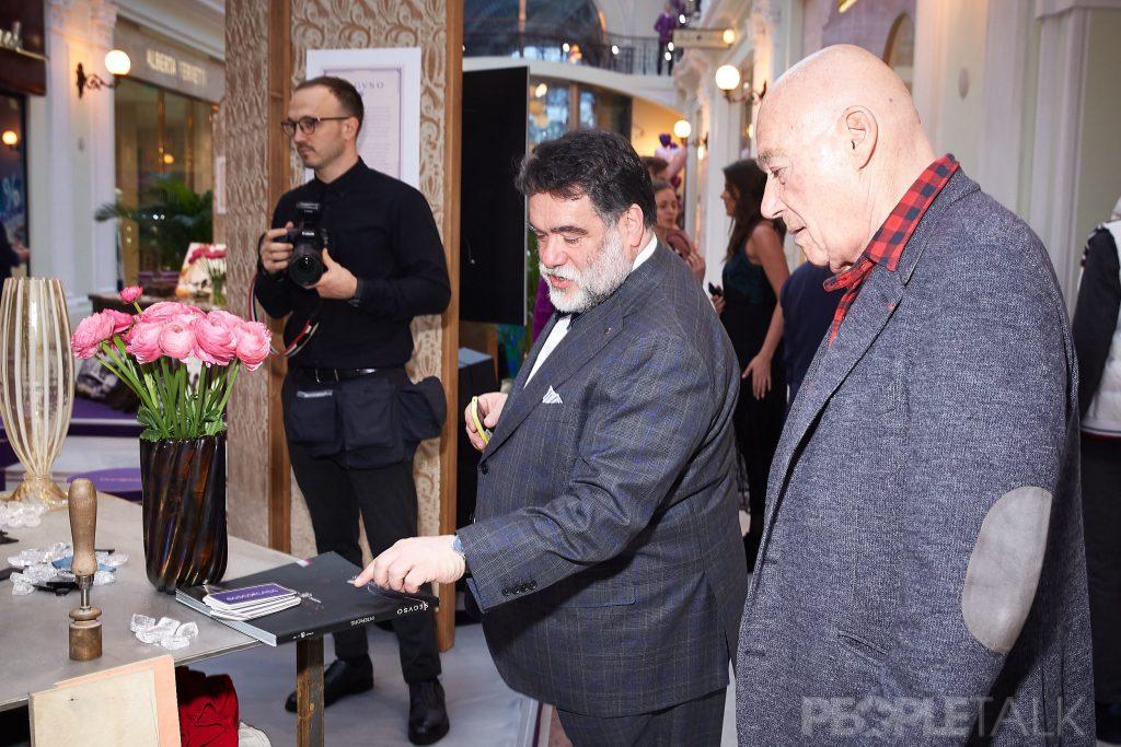 Михаил Куснирович и Владимир Познер