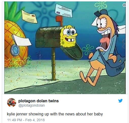 Кайли Дженнер ворвалась с новостью о том, что беременна