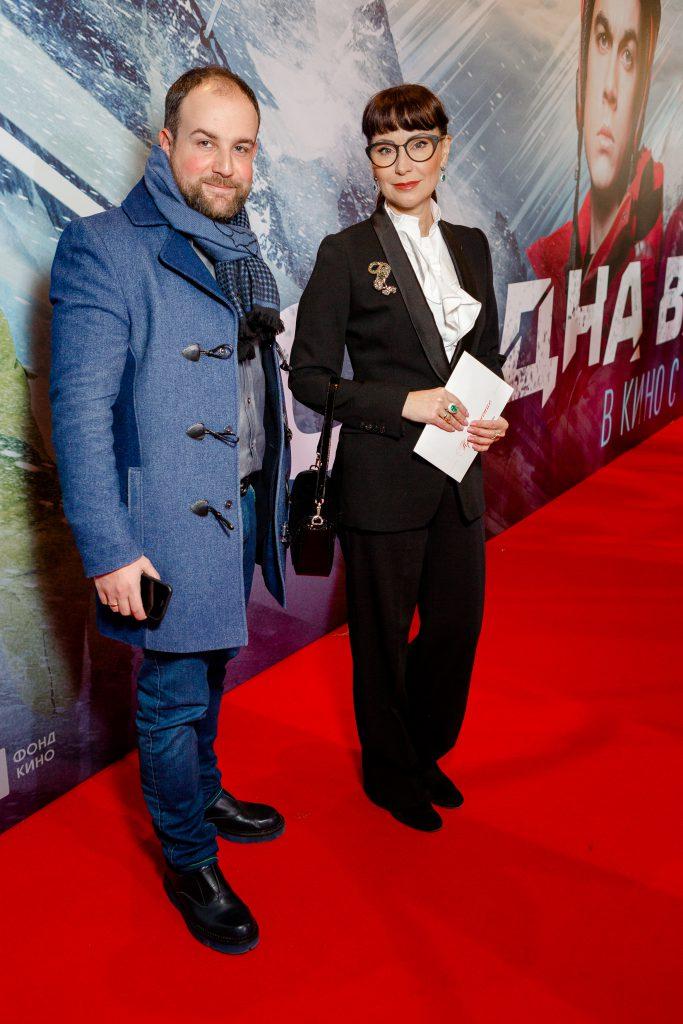 Александр Нестеров и Нонна Гришаева