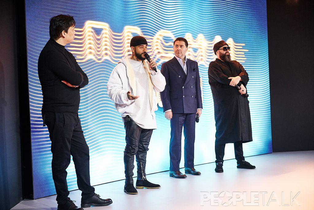 Вячеслав Дусмухаметов, Тимати, Артур Джанибекян и Максим Фадеев