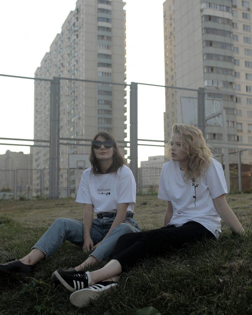 Александра Михалкова и Александра Бортич