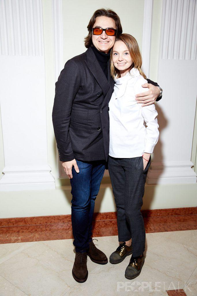 Сергей Филин и Мария Прорвич