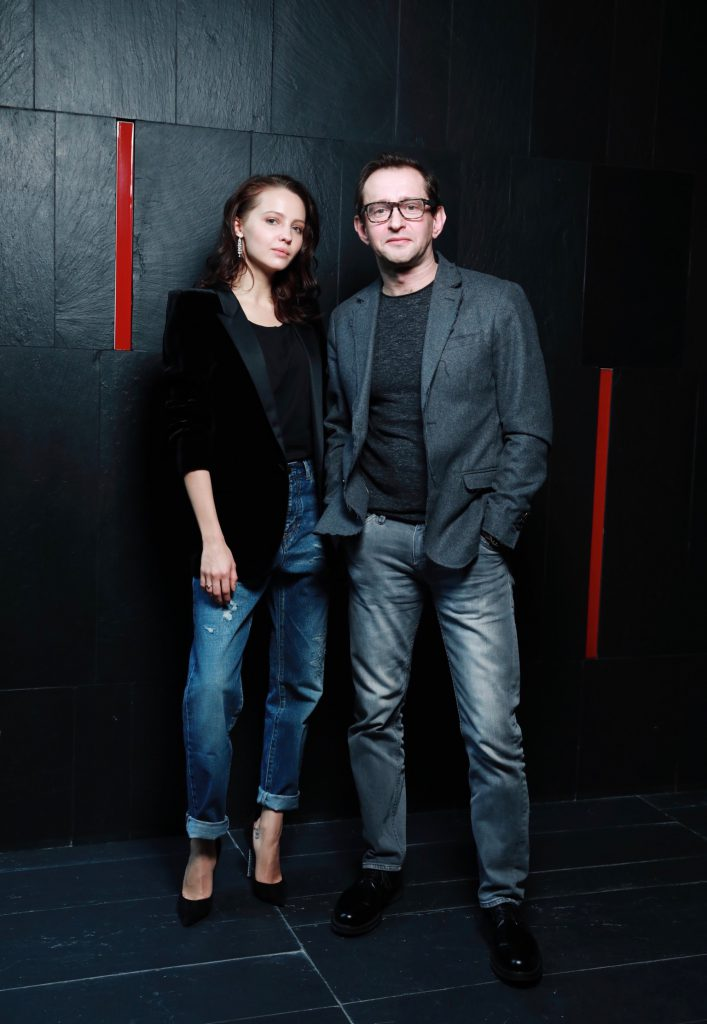 Юлия Хлынина и Константин Хабенский