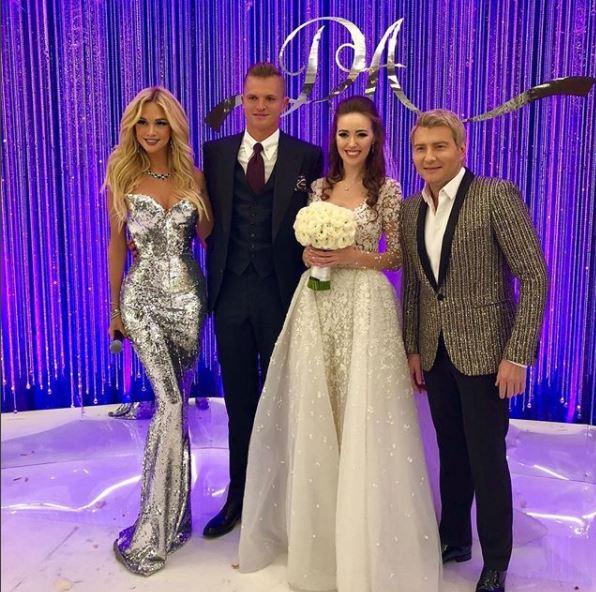 Виктория Лопырева, Дмитрий Тарасов, Анастасия Костенко и Николай Басков