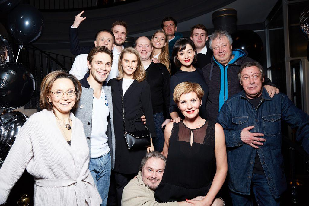 Актеры проекта «Кино на сцене»