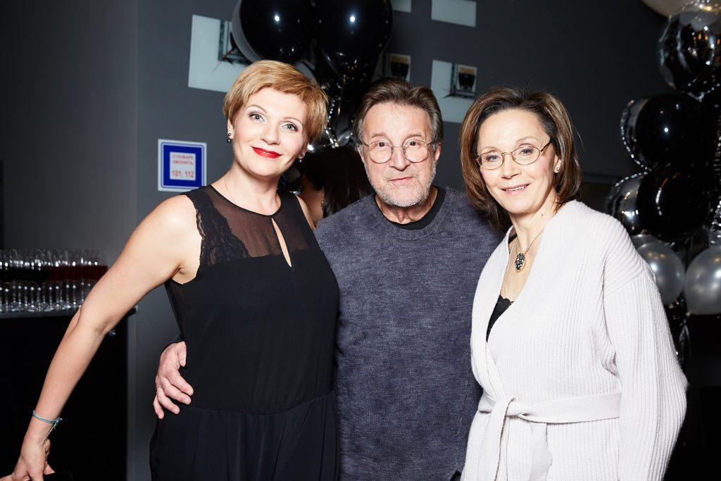 Анна Ардова, Леонид Ярмольник и Ирина Купченко