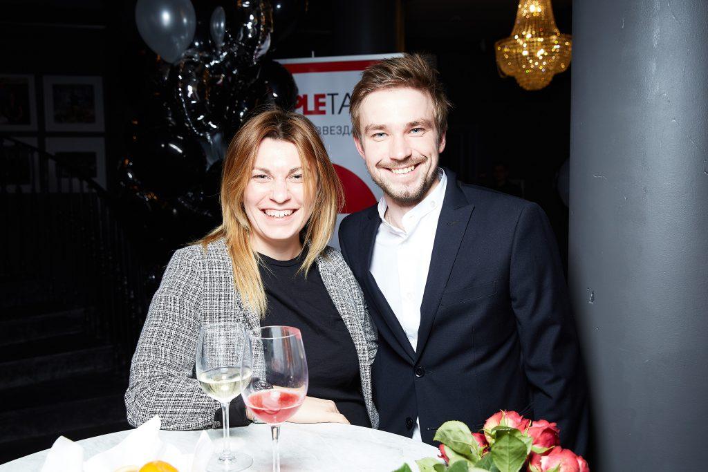 Оксана Кравчук и Александр Петров