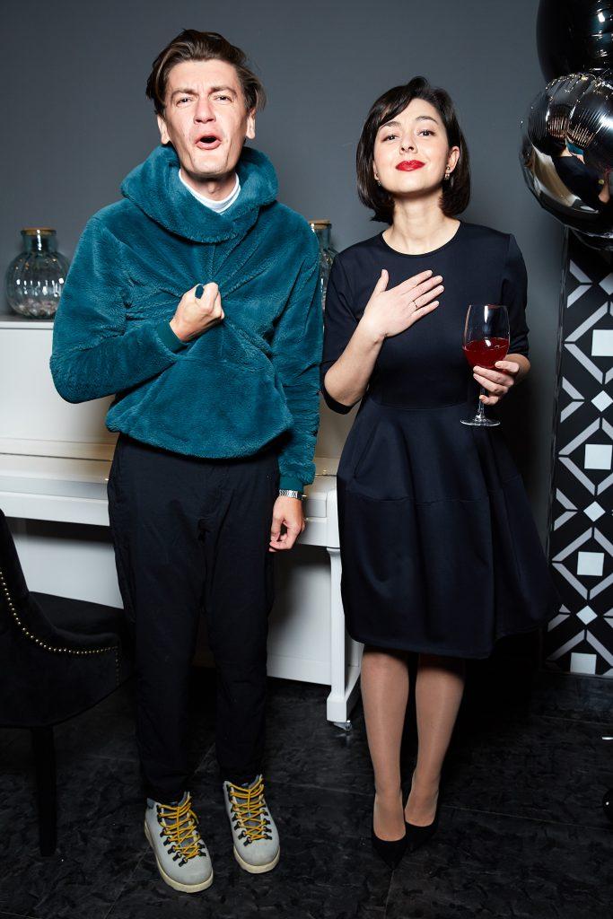 Александр Гудков и Марина Кравец