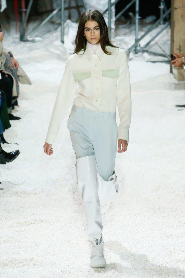 Показ Calvin Klein на Неделе моды в Нью-Йорке