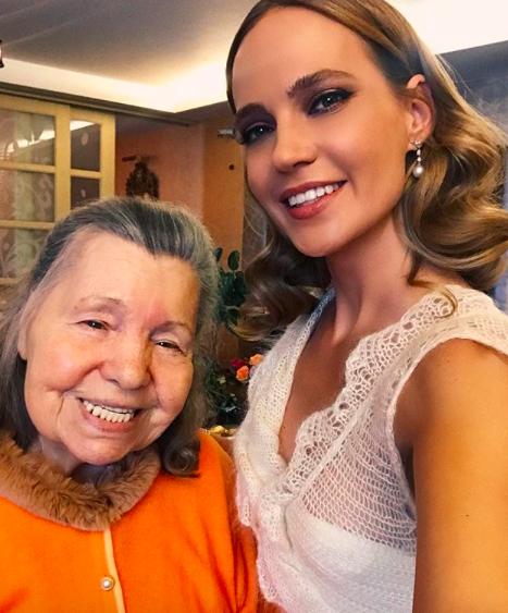Наталья Чистякова-Ионова поздравляла бабушку с днем рождения