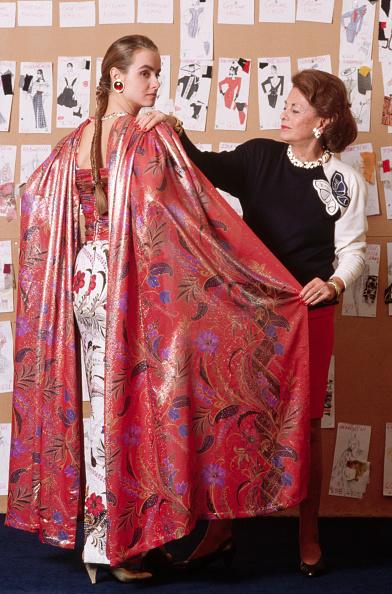 Княгиня Галицына с моделью