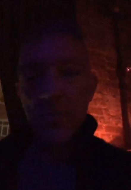 Венсан и Тина в клубе